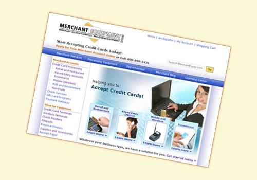 Merchant Equipment Store Example